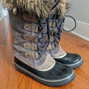 Sorel Joan of Arctic snow boots size 9 gray